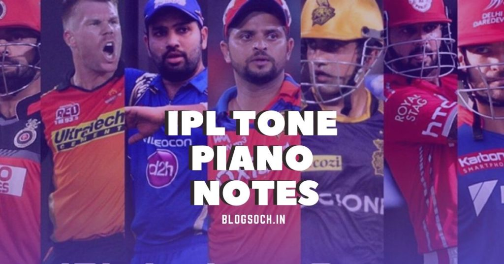 IPL Tone Piano Notes