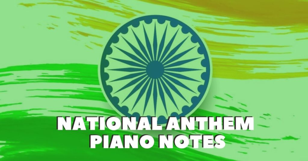 National Anthem Piano Notes